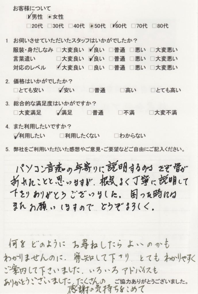 questionnaire038
